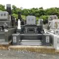お墓が完成しました