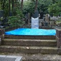 墓石の撤去が終わりました