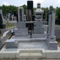 墓石をクリーニングしました